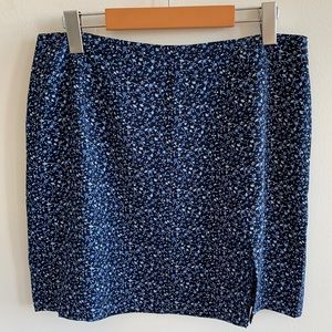 90s style mini skirt